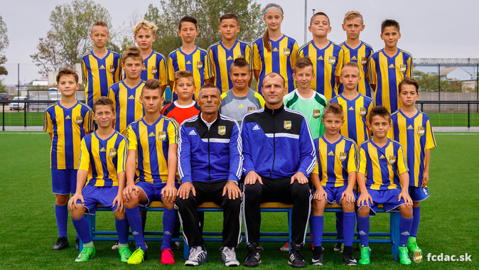 A 2017/18-as szezon: DAC U12